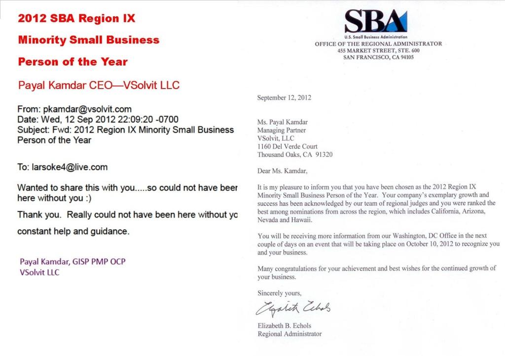 Final VSolvit Award