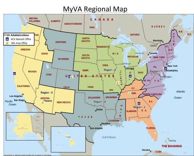 Microsoft Word - MyVA Regional Map.docx