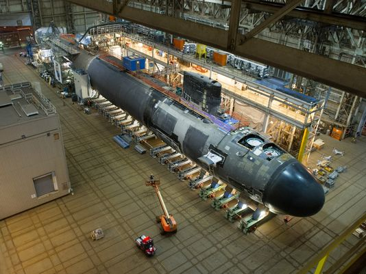 Submarine Production Is Booming At Electric Boat Rose