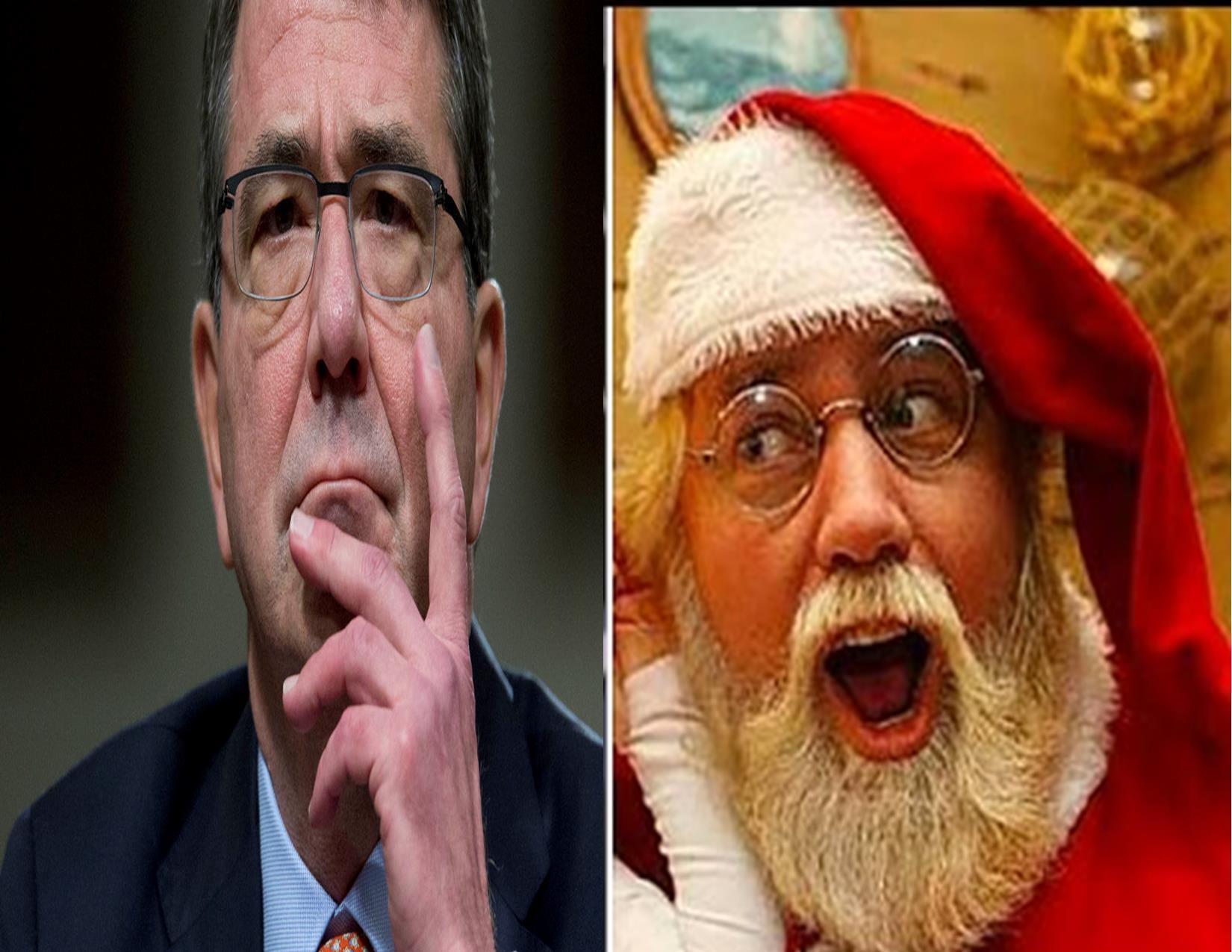 Santa and Ash