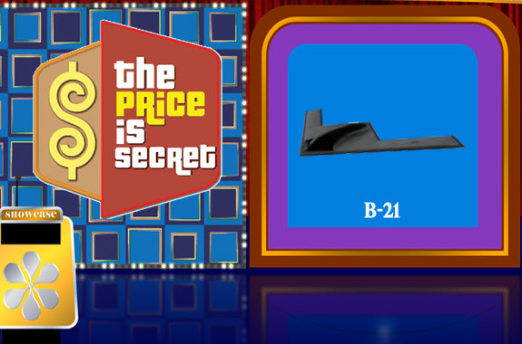 B-21 Price Tag Secret