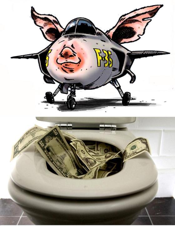 F-35 Pig Toilet