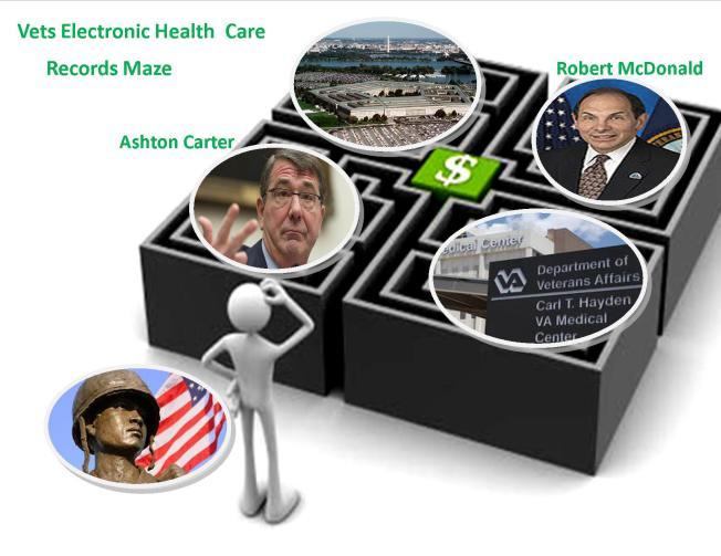Vets Electronic Health Care Maze