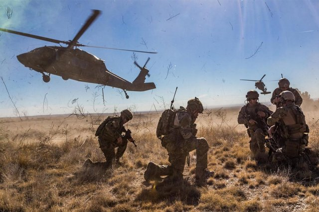 Army Multiple Domain Master Sgt Baumgartner, Air Force
