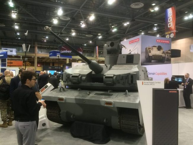 BAE 12 Ton Robot Mini tank