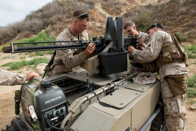 Marines-with-armed-MUTT-robot-160709-M-KA224-012-768x513