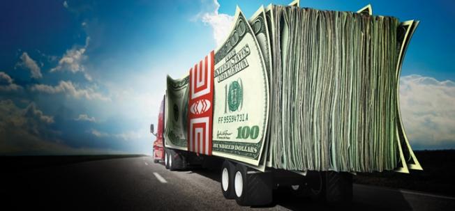 MoneyStackWeb truck
