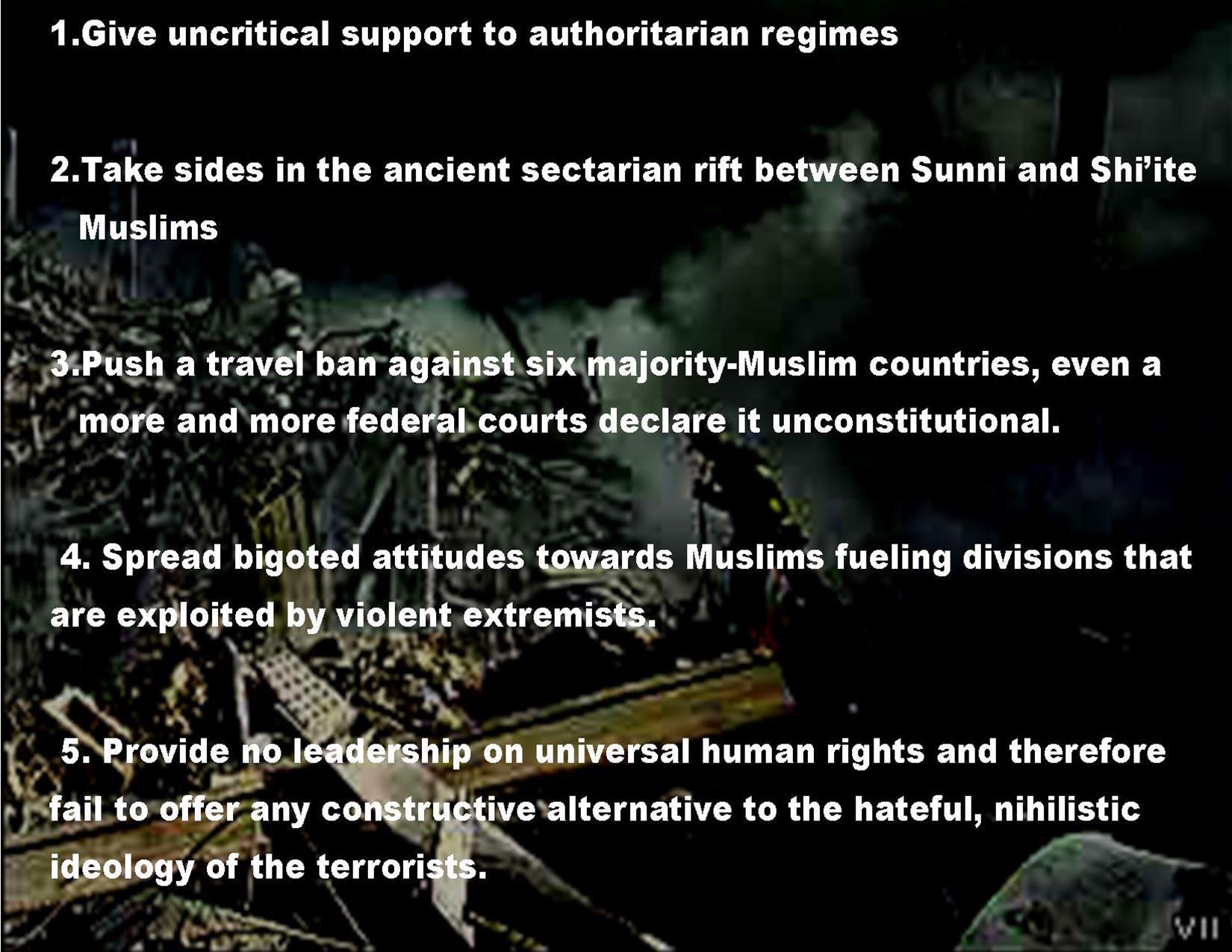 Terrorism Worse