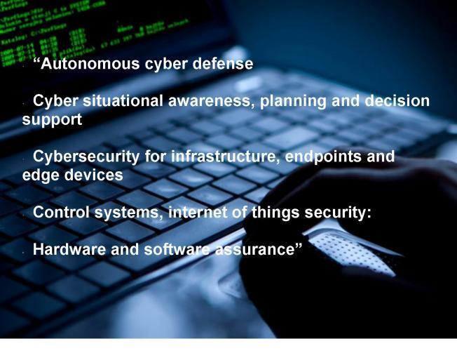 DOD Cyber Wish List