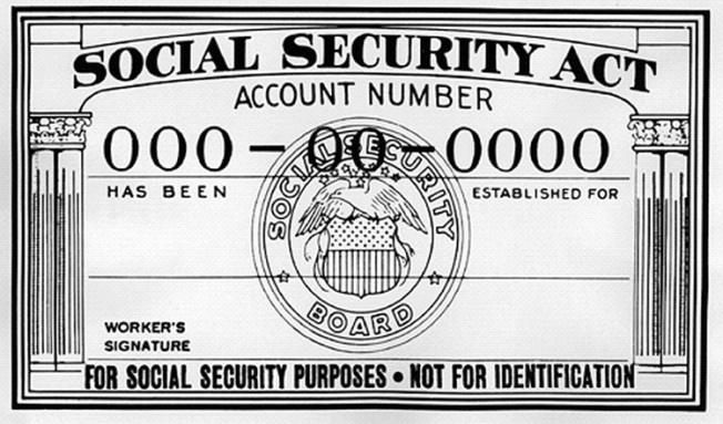 Social Security for Everything