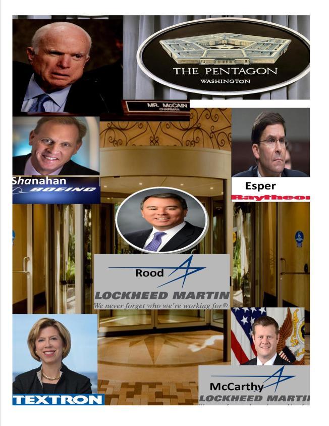 Pentagon revolving door 2