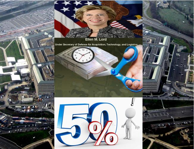 Cut Pentagon Aquisition time 50%