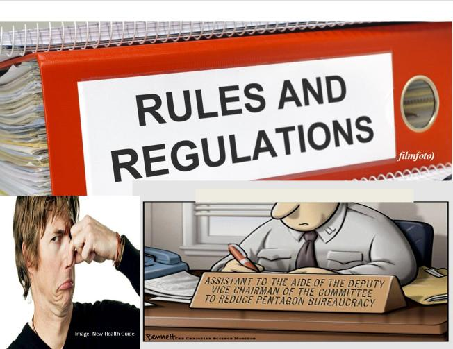 Regulations We Love to Hate