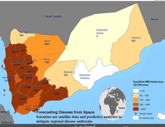 Geospacial Disease Forecasting