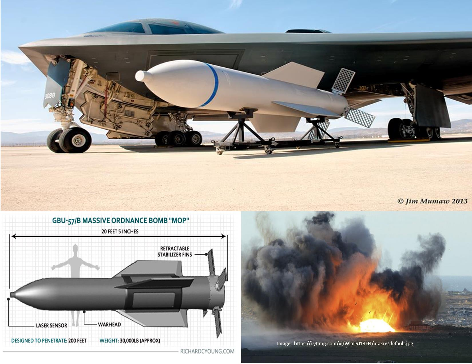 Massive Non-Atomic Bomb