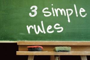 3 Rules for Govcon success hopokenfitness dot com