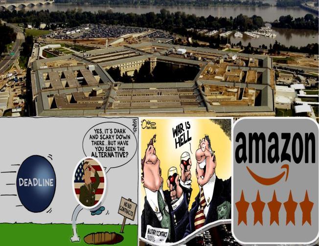Pentagon No Bid Contracts
