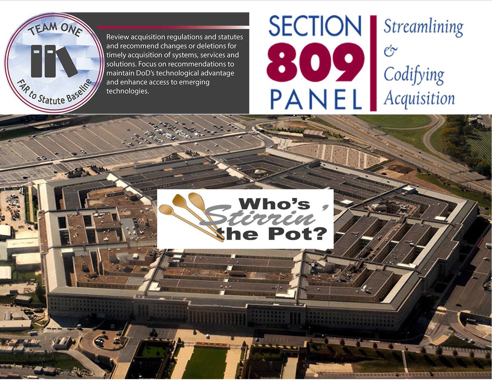 Pentagon Who's Stirrin the Pot