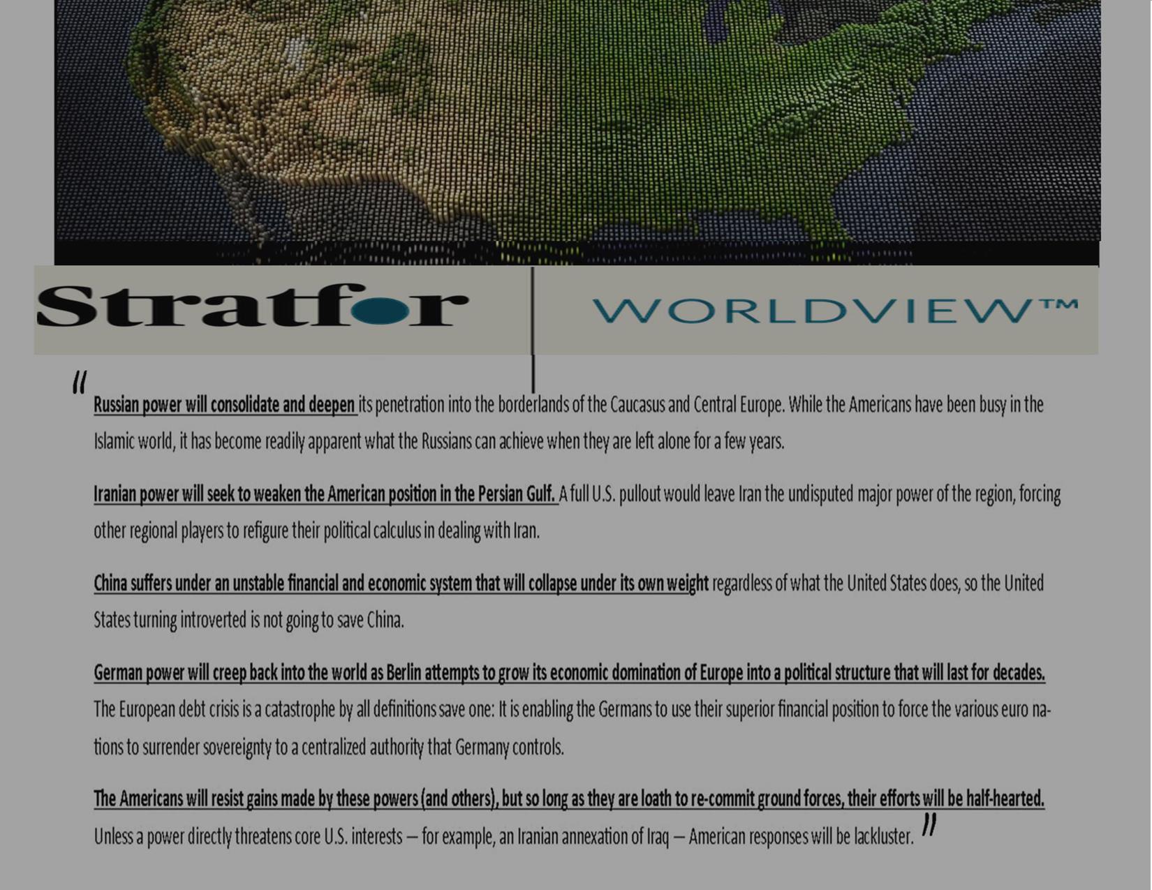 STRATFOR Risk Final