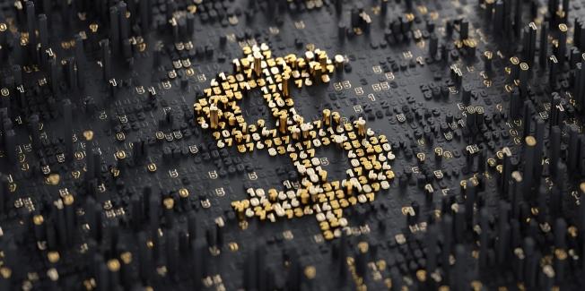 Digital Currency. Dollar
