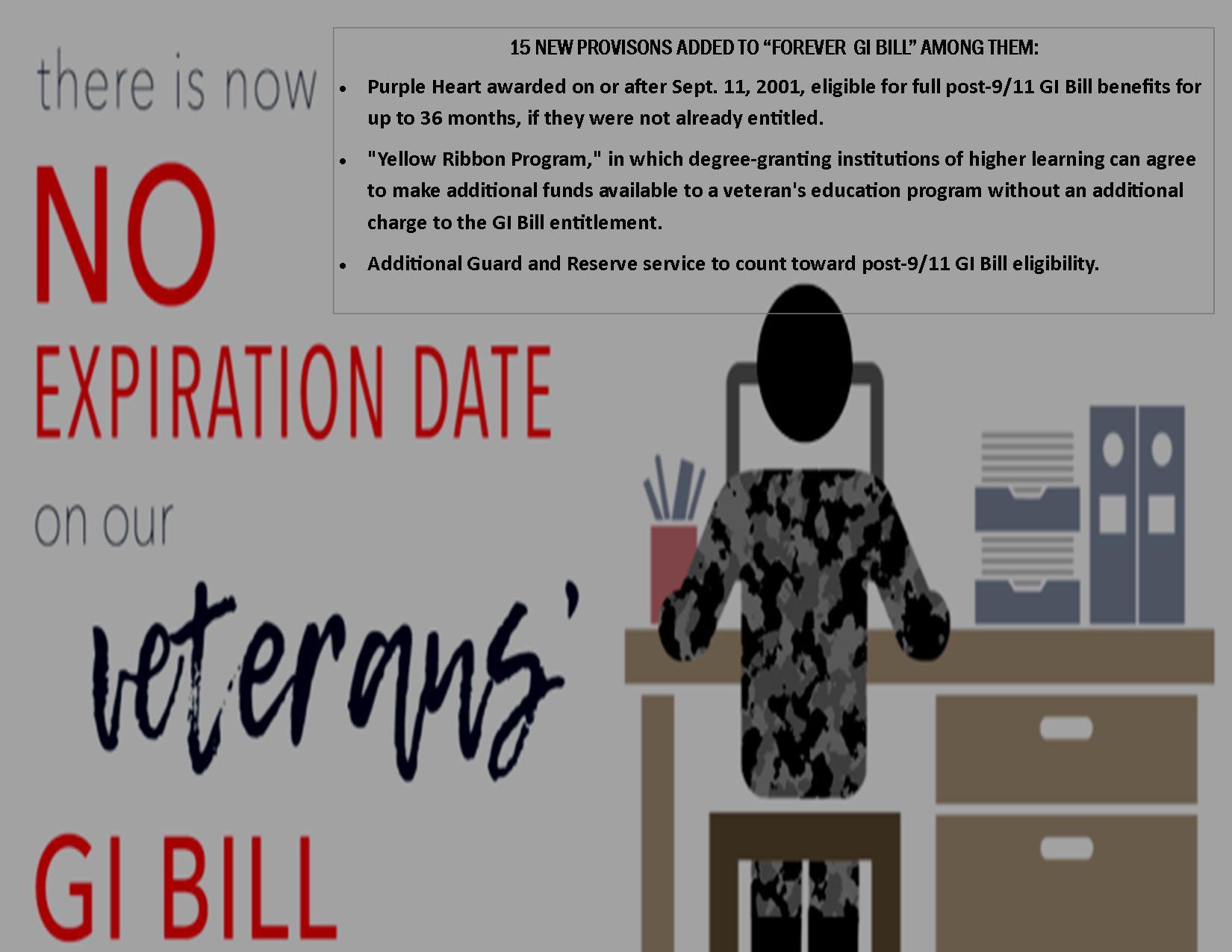 Veterans Forever GI Bill Enhancements