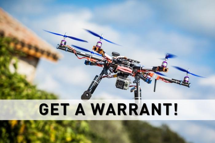 Drones Watching